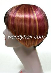Pop bright light color wigs
