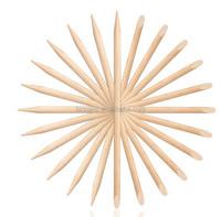 stick on nails, wood cuticle, manicure tool nail art orange wood stick