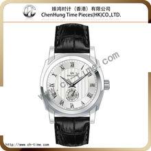 Vogue custom automatic chronograph analog digital wrist quartz watches for men wholesale