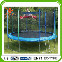 14ft biggest trampolin/trampoline with safety enclosure for sale