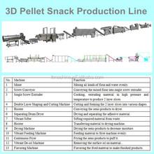 Multifunction Crispy Savory 3D Pellet Snacks Extruding Machine Wholesale Snack Food