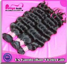 popular cambodain virgin hair in demand products 2012