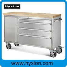 stainless steel workbench 48 inch storage garage tool chest