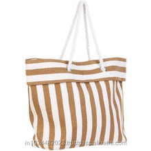 2014 fashional women promotional popular beach bag with pouch