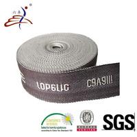 Cotton Fabric Jacquard Logo Webbing Tape