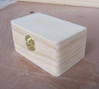 best seller small wooden cheap promotion box supplier
