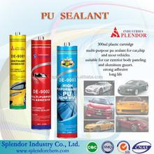 multi-purpose waterproof non-toxic car glass pu sealant SP-1018