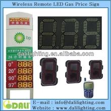 Easy operation 12 inch led gas price sign led gasstation light