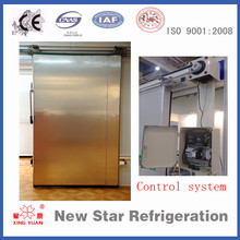 Stainless steel cold storage sliding door
