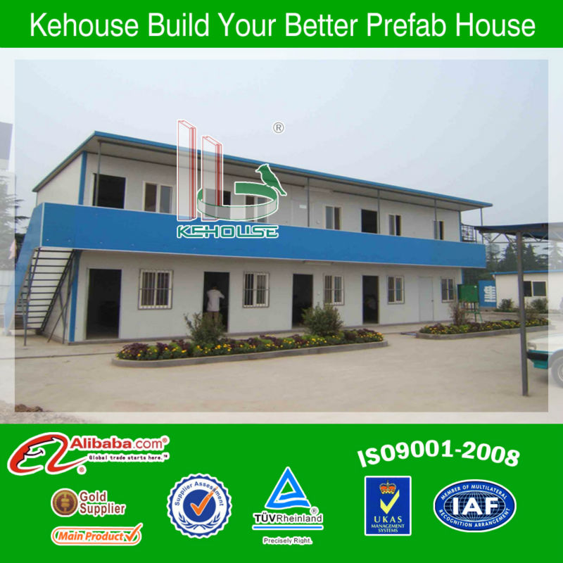 low cost prefabricated modular house light seel building