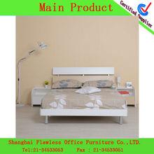 cama de madera de muebles de diseño