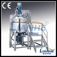 Tilting china direct factory sale Lotion Production Line mixer /homogenizer /emulsifier