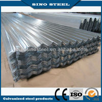 0.17-0.22mm normal used in Africa corrugated zinc coating steel plate