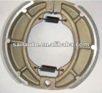GS125 motorbike brake shoes, motorcycle brake parts