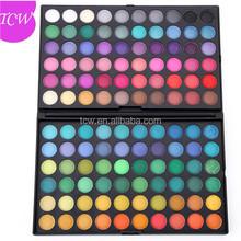 Maquillaje Mineral en polvo de gran sombra de ojos 120 colores de marca paleta de sombra de ojos