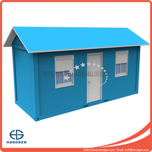 20ft flat pack container house for living house or prefab underground container office with color steel roof
