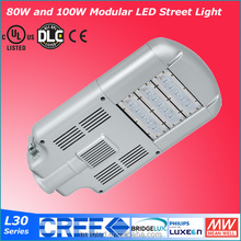 Easy to control ip65 die casting aluminium outdoor 40w led street lamp