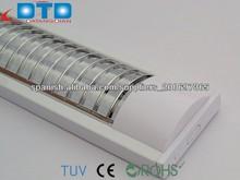 t5 luminarias empotradas techo rejilla de luz 2*14w