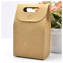 High quality Branded Retail Kraft Paper bag for gift