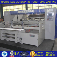 Highly automated-man-machine interface with touch screen touch line machine