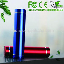 Best Power Bank 2600mAh Rechargeable With Stainless Steel Design External Style
