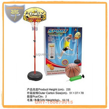 Children outdoor basketball stands with hoop and safety certificate