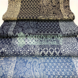 french terry shorts knitted denim fabric