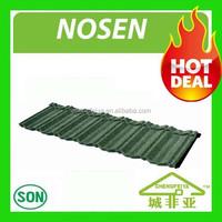 hot sale aluminium zinc stone chip coated metal roof tile