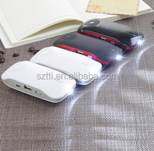 2in1 led 2600 power bank with bluetooth speaker at factory price