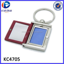 Customized Digital Photo Frame Metal Key Chain