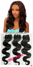 Natural Unprocessed virgin brazilian hair body wave 18inches colour 1#,1B#,2#,4#