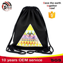 Hot selling drawstring bag cotton with CE certificate