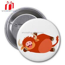 2015 New Items Arts And Craft Durable Flashing Tin Badge