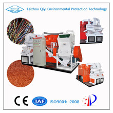 QY-600C CE Approved High Recovery Rate pvc Insulated Copper Wire Recycling Machine
