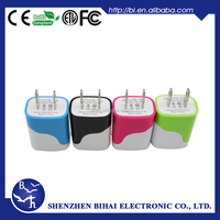 Hot Selling cellphone Accessories 5V 1A Usb battery Charger Colorful Automatic Mobile Phone Charger