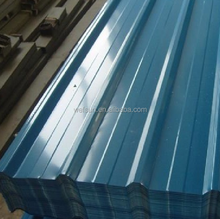 Longer life curve corrugated sheet steel