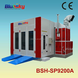 BSH-SP9200A Alibaba china CE used spray booth for sale/car body paint/electrostatic spray booth