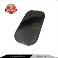 adhesive Car dashboard soft cellphone grip pu gel sticky pad