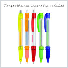 Factory directly sale durable using plastic banner pen with poster