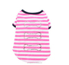 pink stripe dog clothes , hot pet clothes, pet clothing for dog