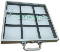aluminum sample display case,aluminum sample box for tile