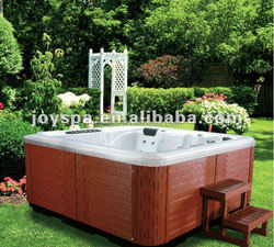 Two loungers Air Jets Whirlpool Hot tubs Spa bath made in China