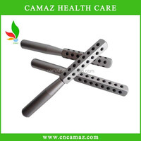 Magnetic hand massage roller with 42 germanium stones