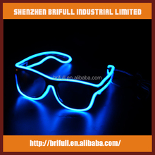 handicraft led light glasses for party and nightclub