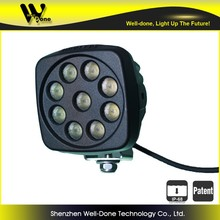 27W rechargeable led worklight, oledone tractor tail lamp 27W square