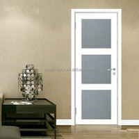 classic model interior glass wooden door