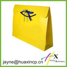 Matte lamination fancy paper shopping bag wholesale