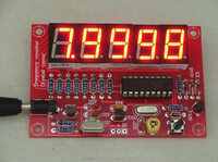 New DIY Kits RF 1Hz-50MHz Crystal Oscillator Frequency Counter Meter Digital LED tester meter