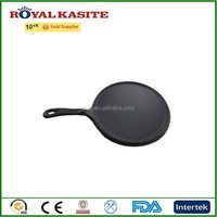 non stick cast iron poffertjes pan, round cast iron griddle pan, cast iron cookware pans