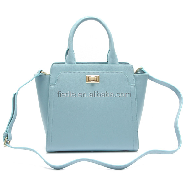 Fashion latest ladies bags handbags blue elegance handbags wholesale